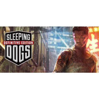 Sleeping Dogs: Definitive Edition EU STEAM CD KEY INSTANT