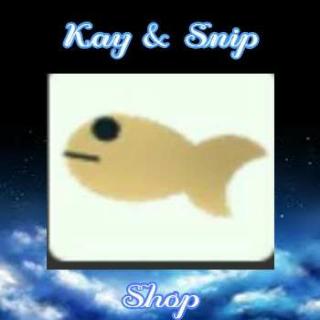 Other   Adopt Me Goldfish