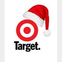 $25.00 Target [8543]