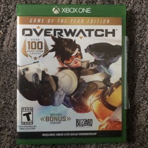 Overwatch game of the year edition XBOX 1