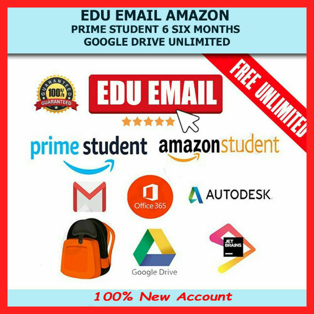 Edu Email Google Drive Unlimited / Office 365 For Life / 6 Months