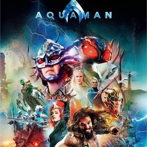 Aquaman Digital HD (MA-VUDU) Movie Code | Best DC Movie Yet: 9.2 out of 10