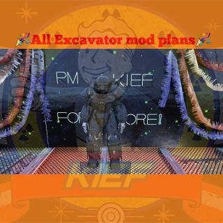 Plan   Excavator PA Plans🕵️♂️