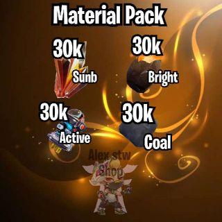 Bundle | Material Pack S,B,C,A⚡
