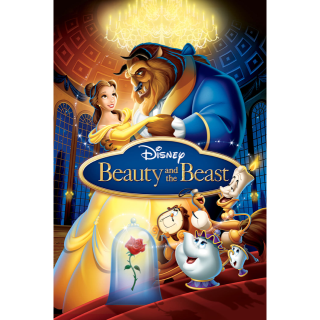 DISNEY BEAUTY AND THE BEAST ANIMATED 1991 (HD DIGITAL CODE) GOOGLE PLAY INSTANT DELIVERY