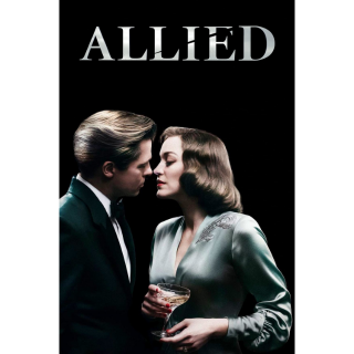 ALLIED (2017) BRAD PITT (HD DIGITAL CODE) VUDU