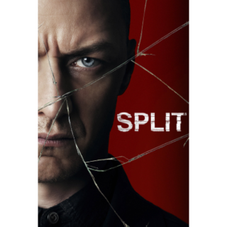 M NIGHT SHYAMALAN SPLIT (2017) 4K UHD DIGITAL CODE (iTunes)