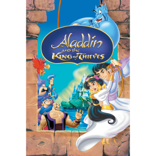 ALADDIN AND THE KING OF THIEVES 3 (HD DIGITAL CODE) VUDU, ITUNES, MOVIESANYWHERE INSTANT DELIVERY