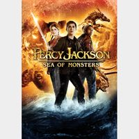 PERCY JACKSON 2 SEA OF MONSTERS (HD DIGITAL CODE) VUDU, MOVIESANYWHERE INSTANT DELIVERY