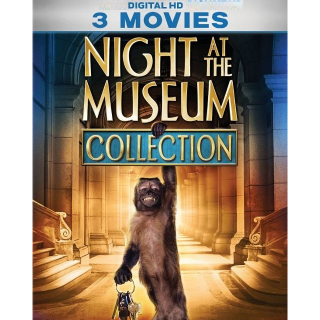 NIGHT AT THE MUSEUM 1 2 3 TRILOGY 3 MOVIE COLLECTION (HD DIGITAL CODE) VUDU, MOVIESANYWHERE INSTANT DELIVERY