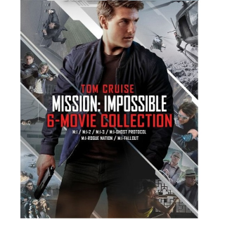 MISSION IMPOSSIBLE 6 MOVIE COLLECTION (M:I 1,2,3,4,5,6) TOM CRUISE (HD DIGITAL CODE) VUDU INSTANT DELIVERY
