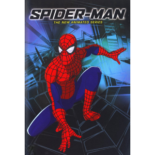 MARVEL SPIDER-MAN THE NEW ANIMATED SERIES COMPLETE SERIES SEASON (SD DIGITAL CODE) VUDU INSTANT DELIVERY
