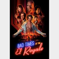 BAD TIMES AT THE EL ROYALE (2018) (HD DIGITAL CODE) VUDU, MOVIESANYWHERE INSTANT DELIVERY