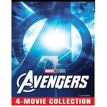 AVENGERS 4 MOVIE COLLECTION (AVENGERS, AGE OF ULTRON, INFINITY WAR, ENDGAME) (HD DIGITAL CODE) GOOGLE PLAY INSTANT DELIVERY