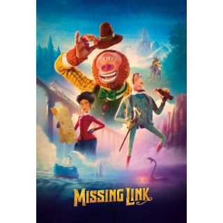 MISSING LINK (2019) (4K UHD DIGITAL CODE) GOOGLE PLAY, MA PORT INSTANT DELIVERY