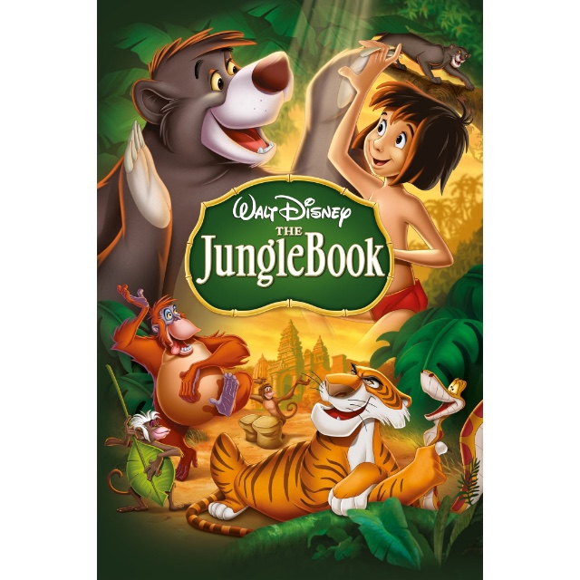 DISNEY ANIMATED MOVIE THE JUNGLE BOOK (1967) (HD DIGITAL CODE) GOOGLE PLAY INSTANT DELIVERY