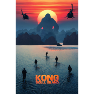 Kong: Skull Island (2017) DIGITAL HD CODE (VUDU, MOVIES ANYWHERE)
