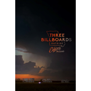 THREE BILLBOARDS OUTSIDE EBBING, MISSOURI (HD DIGITAL CODE) VUDU, MOVIESANYWHERE INSTANT DELIVERY