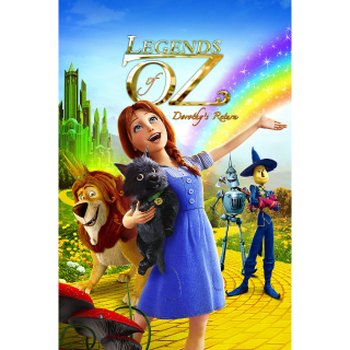 LEGENDS OF OZ DOROTHY'S RETURN (2013 ANIMATED) (HD DIGITAL CODE) VUDU, MOVIESANYWHERE INSTANT DELIVERY