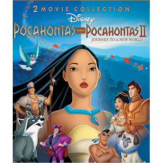 DISNEY POCAHONTAS 2 MOVIE COLLECTION (HD DIGITAL CODE) VUDU, ITUNES, MOVIESANYWHERE INSTANT DELVERY