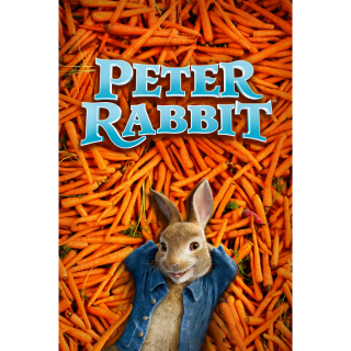 PETER RABBIT (4K UHD DIGITAL CODE) VUDU, MOVIESANYWHERE