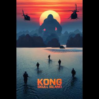 KONG SKULL ISLAND (4K UHD DIGITAL CODE) VUDU, MOVIESANYWHERE