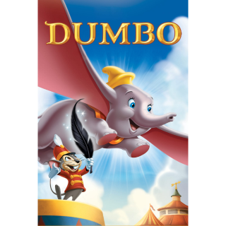 DISNEY DUMBO ANIMATED MOVIE (1941) (HD DIGITAL CODE) GOOGLE PLAY INSTANT DELIVERY
