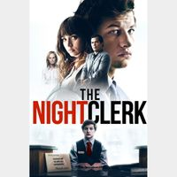 THE NIGHT CLERK (2020) (HD DIGITAL CODE) ITUNES INSTANT DELIVERY