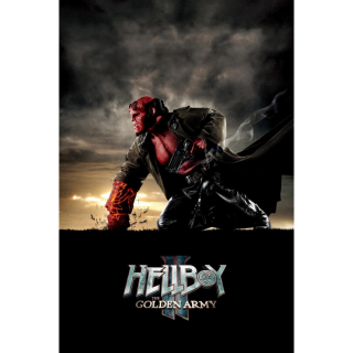 HELLBOY 2 II: THE GOLDEN ARMY (HD DIGITAL CODE) VUDU, MOVIESANYWHERE INSTANT DELIVERY