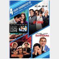 STEVE CARELL 4 FILM FAVORITES COLLECTION BUNDLE (SD DIGITAL CODE) VUDU INSTANT DELIVERY