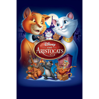 DISNEY THE ARISTOCATS (1970) (HD DIGITAL CODE) VUDU, ITUNES, MOVIESANYWHERE INSTANT DELIVERY