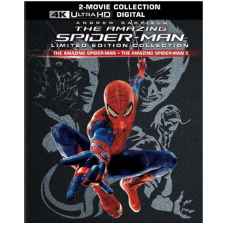 THE AMAZING SPIDER-MAN 1 & 2 MOVIE COLLECTION (4K ULTRA HD UHD DIGITAL CODE) (VUDU, MOVIESANYWHERE INSTANT DELIVERY