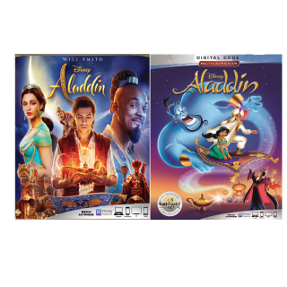 ALADDIN (2019 LIVE ACTION 1992 ANIMATED BUNDLE) (HD DIGITAL CODE) GOOGLE PLAY INSTANT DELIVERY 2