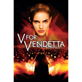 V FOR VENDETTA (2006) (HD DIGITAL CODE) VUDU, MOVIESANYWHERE INSTANT DELIVERY