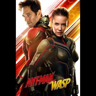 MARVEL STUDIOS ANT-MAN AND THE WASP (4K UHD DIGITAL CODE) VUDU, MOVIESANYWHERE