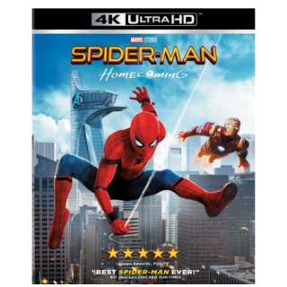 SPIDER-MAN HOMECOMING (4K ULTRA HD UHD DIGITAL CODE) VUDU, MOVIESANYWHERE INSTANT DELIVERY + SONY REWARDS
