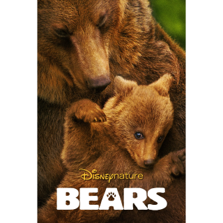 DISNEY DISNEYNATURE BEARS DOCUMENTARY (HD DIGITAL CODE) VUDU, ITUNES, MOVIESANYWHERE INSTANT DELIVERY