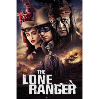 DISNEY THE LONE RANGER (2013 JOHNNY DEPP) (HD DIGITAL CODE) VUDU, MOVIESANYWHERE INSTANT DELIVERY