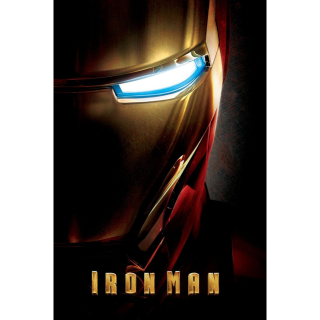 MARVEL STUDIOS IRON MAN 1 (HD DIGITAL CODE) (VUDU, MOVIESANYWHERE)