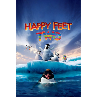 HAPPY FEET TWO 2 (2011) (HD DIGITAL CODE) VUDU, MOVIESANYWHERE INSTANT DELIVERY