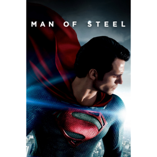 DCEU SUPERMAN: MAN OF STEEL (2013) HD DIGITAL CODE (VUDU, MOVIESANYWHERE)