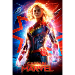 CAPTAIN MARVEL (2019) (HD DIGITAL CODE) GOOGLE PLAY INSTANT DELIVERY
