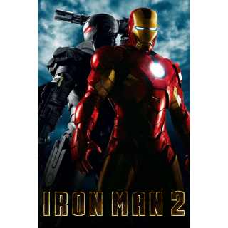 MARVEL STUDIOS IRON MAN 2 (HD DIGITAL CODE) (GOOGLE PLAY INSTANT DELIVERY)