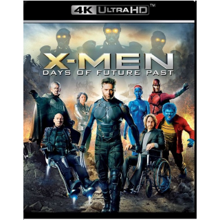 X-MEN: DAYS OF FUTURE PAST (4K UHD DIGITAL CODE) ITUNES INSTANT DELIVERY
