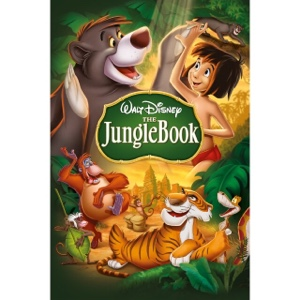 DISNEY ANIMATED MOVIE THE JUNGLE BOOK (1967) (HD DIGITAL CODE) VUDU, ITUNES, MOVIESANYWHERE INSTANT DELIVERY