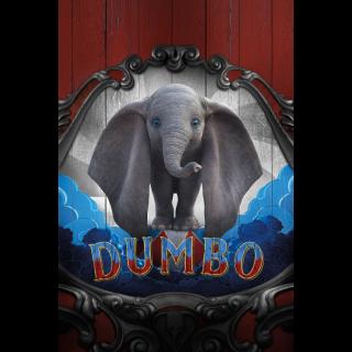 DISNEY LIVE ACTION DUMBO (2019) (4K UHD DIGITAL CODE) VUDU, MOVIESANYWHERE