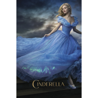 DISNEY CINDERELLA LIVE ACTION (2015) (HD DIGITAL CODE) GOOGLE PLAY INSTANT DELIVERY