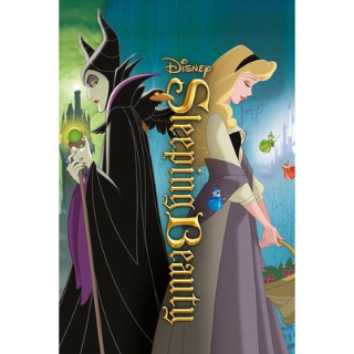 DISNEY SLEEPING BEAUTY 1959 ANIMATED MOVIE (HD DIGITAL CODE) GOOGLE PLAY INSTANT DELIVERY