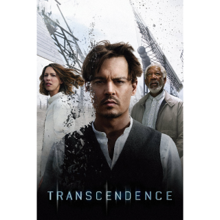 TRANSCENDENCE (2014 JOHNNY DEPP) (HD DIGITAL CODE) VUDU, MOVIESANYWHERE INSTANT DELIVERY