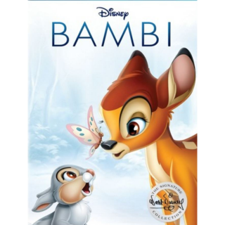DISNEY BAMBI SIGNATURE COLLECTION (1942) (HD DIGITAL CODE) GOOGLE PLAY INSTANT DELIVERY